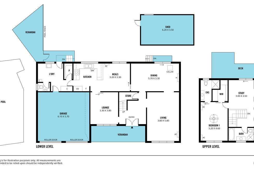 Floorplan of Homely house listing, 9 Davey Crescent, Seaview Downs SA 5049