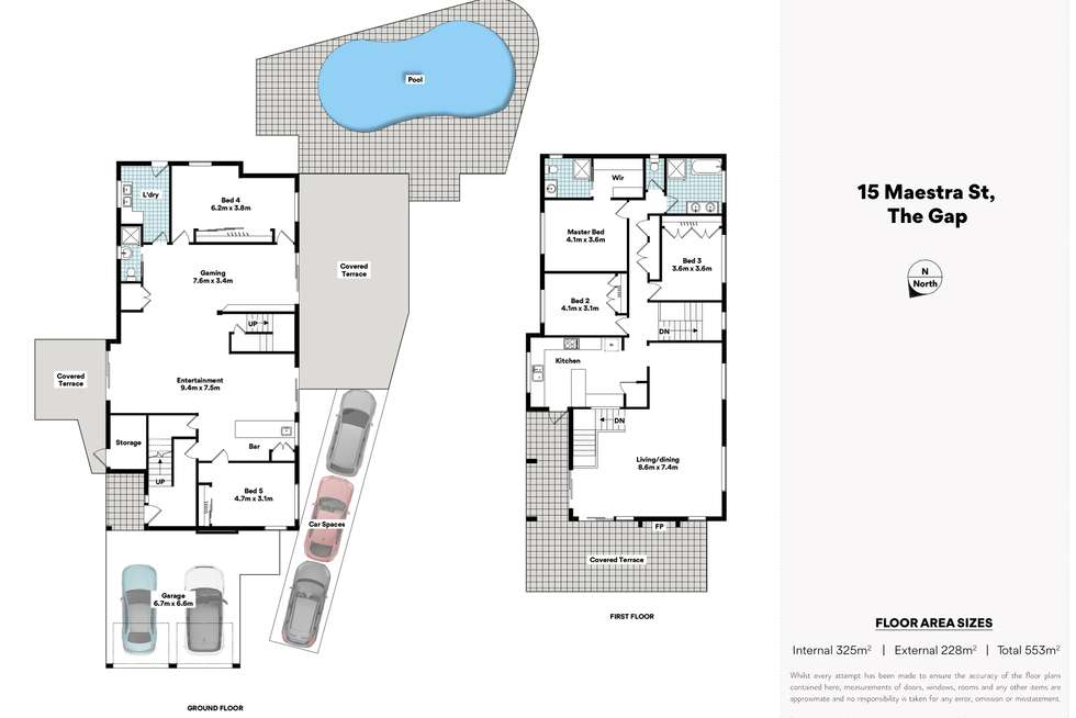 Floorplan of Homely house listing, 15 Maestra Street, The Gap QLD 4061