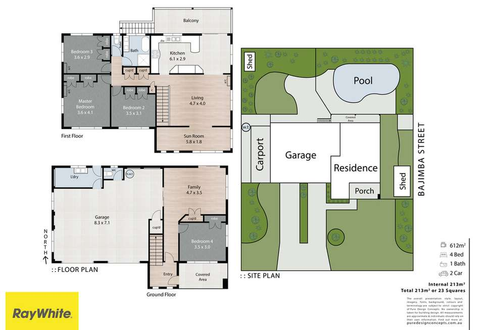 Floorplan of Homely house listing, 21 Bajimba Street, Manly West QLD 4179