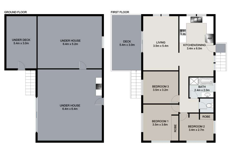 Floorplan of Homely house listing, 24 Bradford Road, Telina QLD 4680