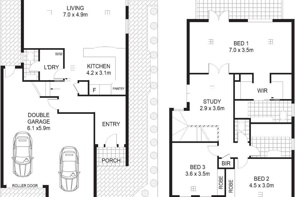 Floorplan of Homely house listing, 19 Lakeside Circuit, Northgate SA 5085
