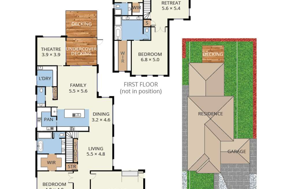 Floorplan of Homely house listing, 22 Lindau Drive, Vermont South VIC 3133
