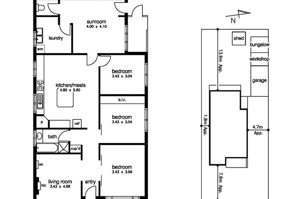 Floorplan of Homely house listing, 196 Millers Road, Altona North VIC 3025