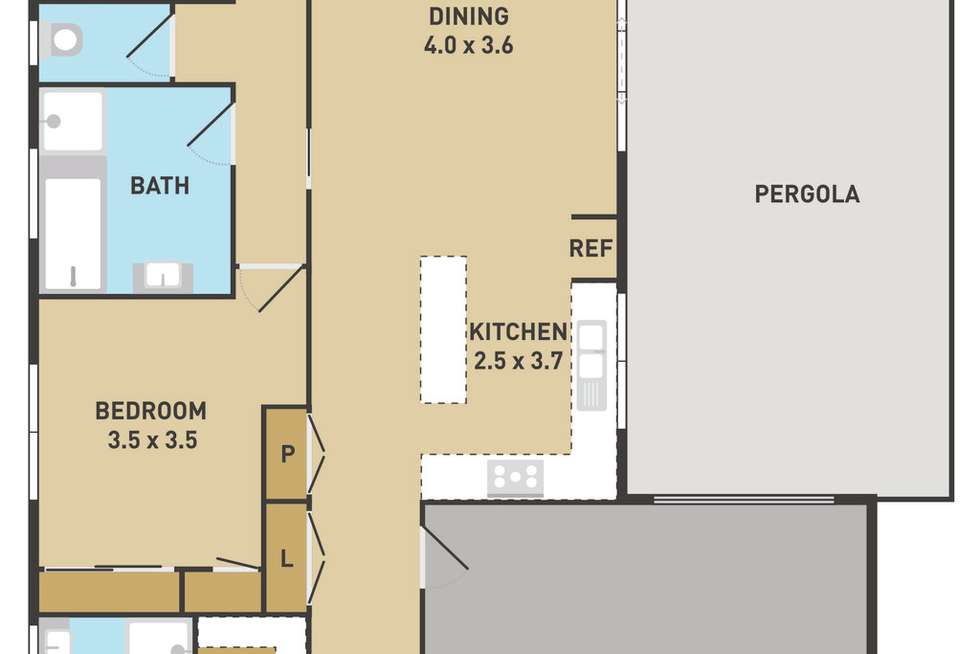 Floorplan of Homely house listing, 1 Briar Valley Rise, Caroline Springs VIC 3023