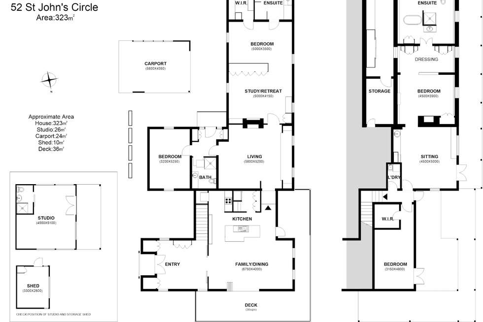 Floorplan of Homely house listing, 52 St Johns Circle, Richmond TAS 7025