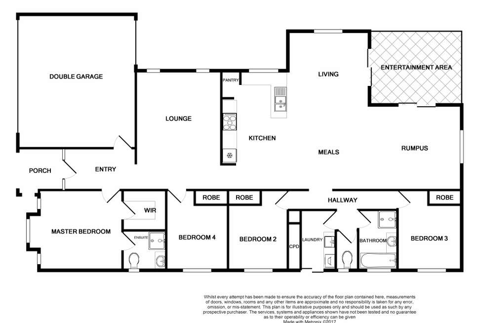 Floorplan of Homely house listing, 95 Brookwater Parade, Lyndhurst VIC 3975