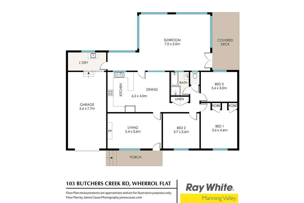 Floorplan of Homely lifestyle listing, 103 Butchers Creek Road, Wherrol Flat NSW 2429