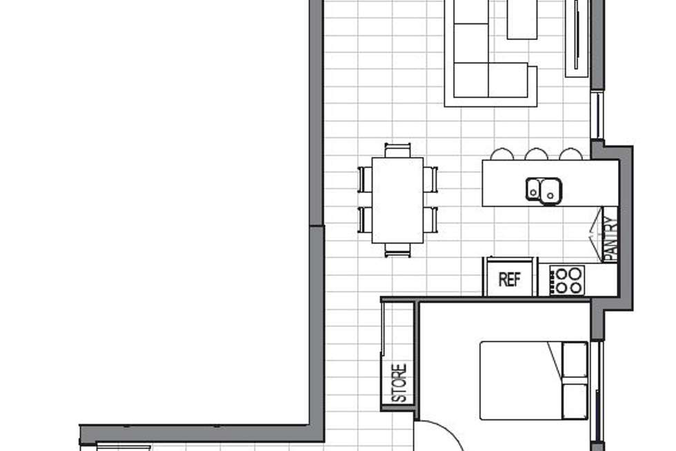 Floorplan of Homely apartment listing, 402/6 Algar Street, Windsor QLD 4030