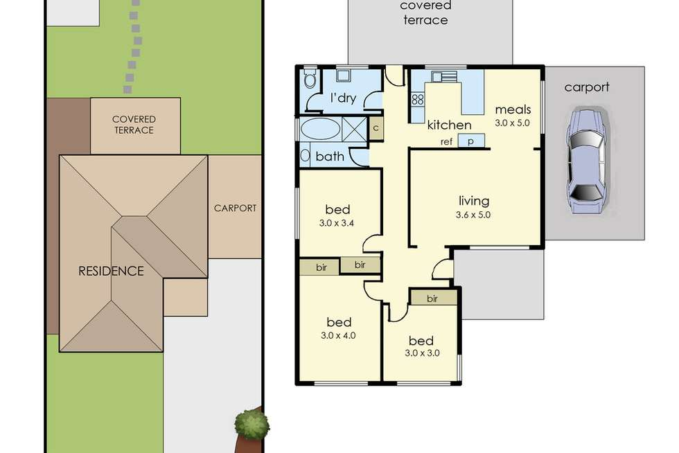Floorplan of Homely house listing, 33 Fenfield Street, Cranbourne VIC 3977