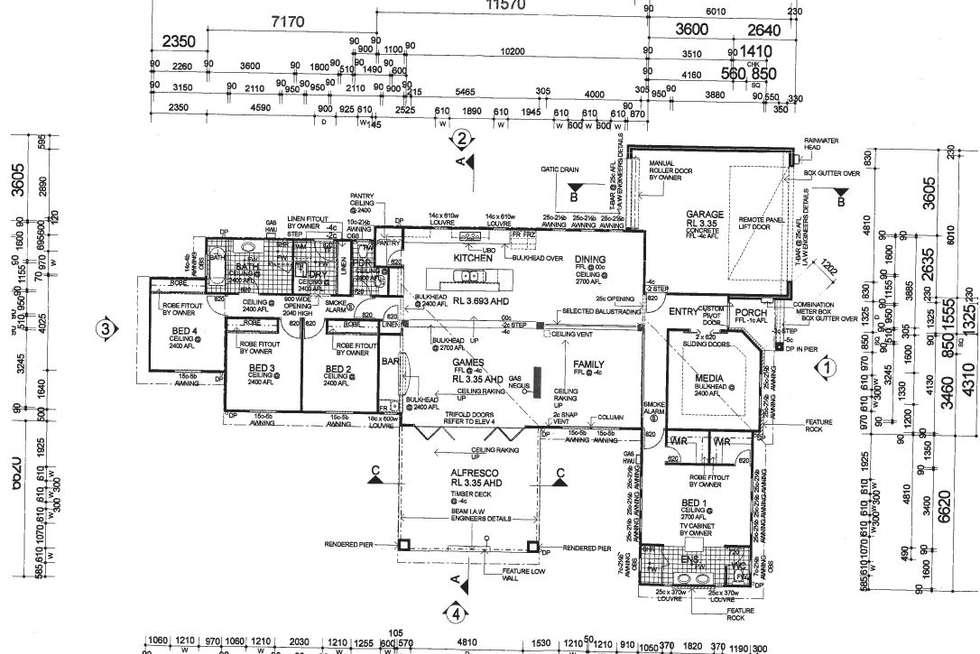 Floorplan of Homely house listing, 13 Cambridge Boulevard, Abbey WA 6280