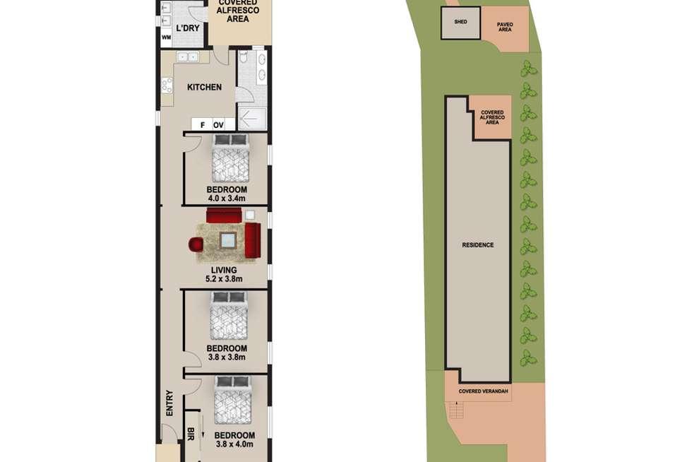 Floorplan of Homely house listing, 21 Norton Street, Ashfield NSW 2131