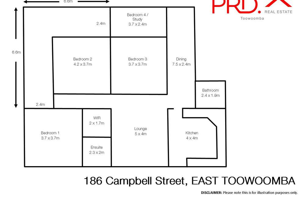 Floorplan of Homely house listing, 186 Campbell Street, Toowoomba City QLD 4350