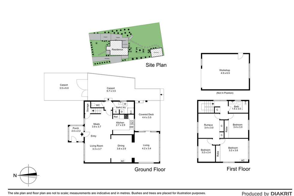 Floorplan of Homely house listing, 14 Outlook Road, Mount Waverley VIC 3149
