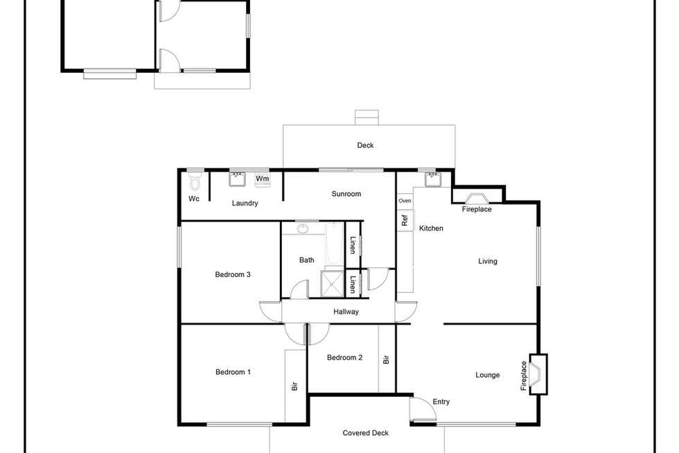 Floorplan of Homely house listing, 33 Baromi Road, Mirboo North VIC 3871