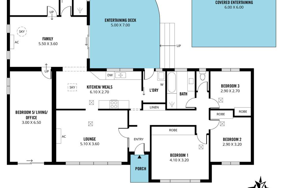 Floorplan of Homely house listing, 10 Crittenden Road, Morphett Vale SA 5162