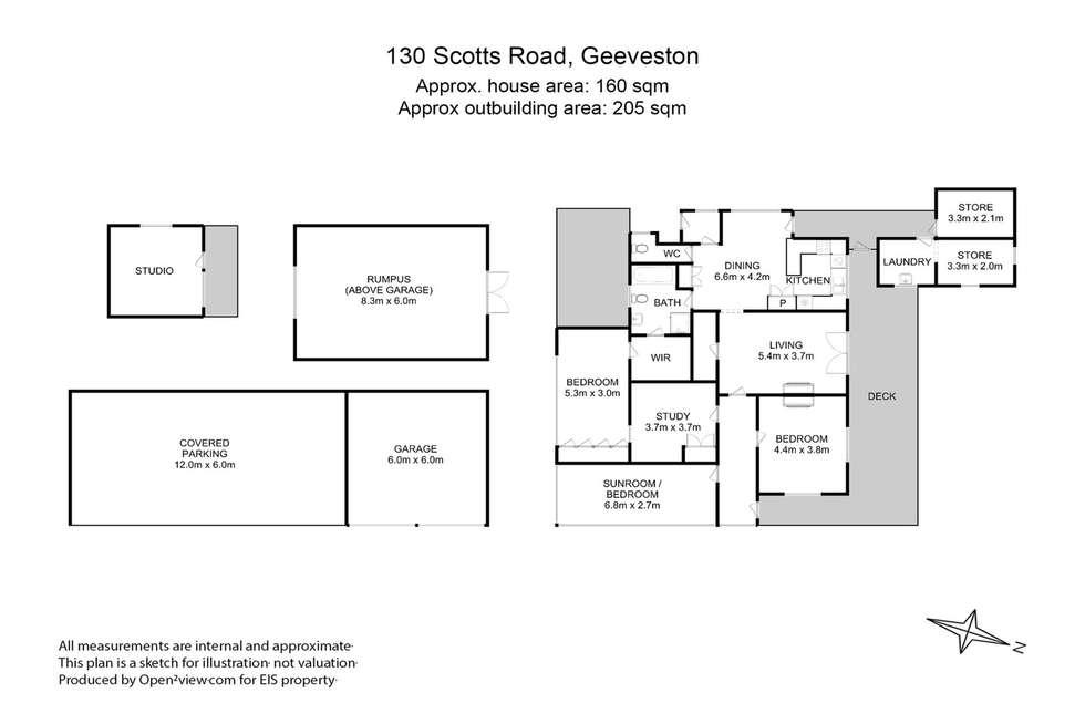 Floorplan of Homely house listing, 130 Scotts Road, Geeveston TAS 7116