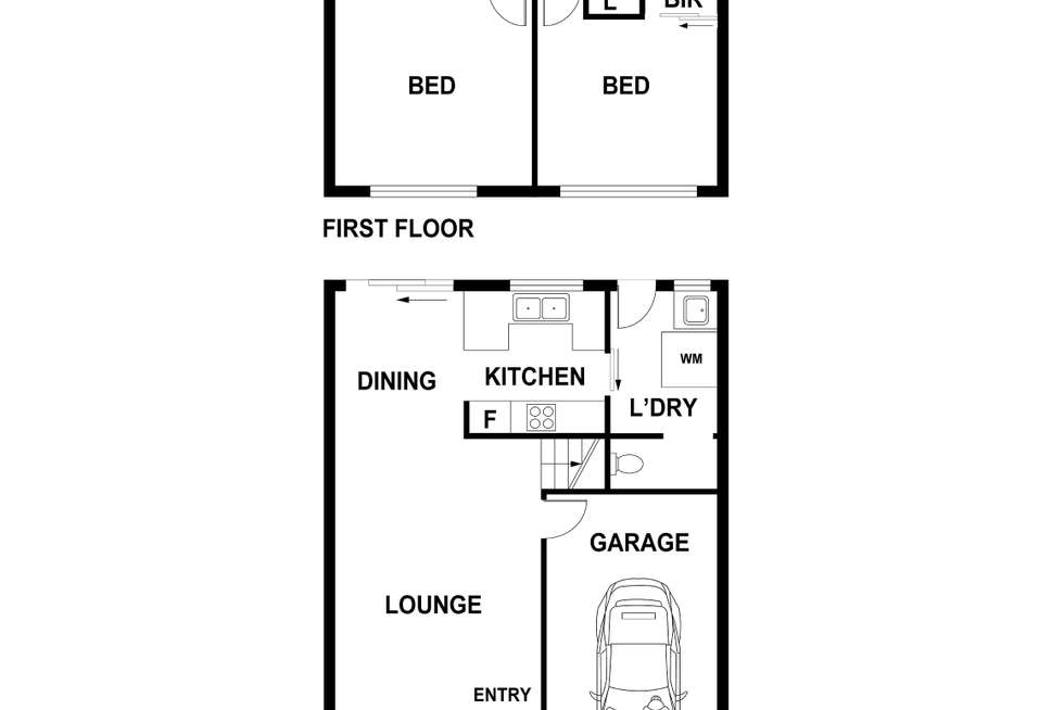 Floorplan of Homely house listing, 6/87 Walder Road, Hammondville NSW 2170
