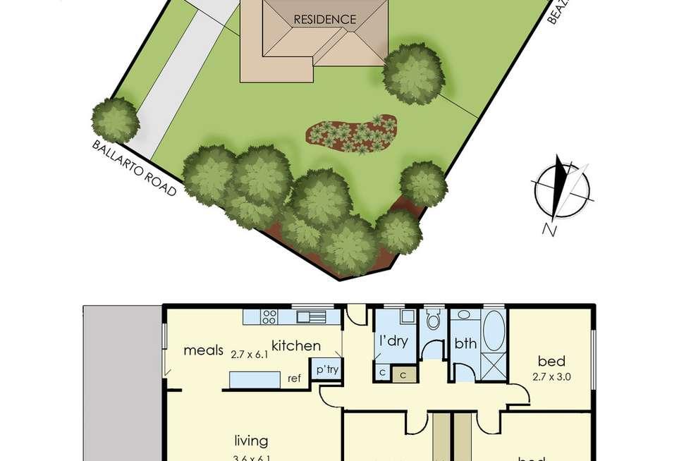 Floorplan of Homely house listing, 2380 Ballarto Road, Cardinia VIC 3978