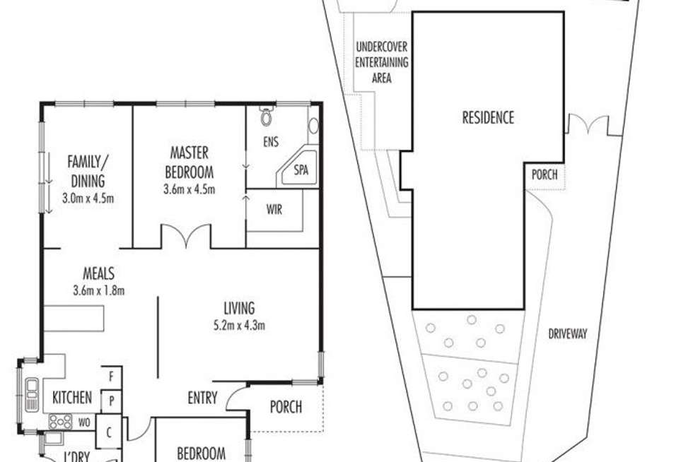 Floorplan of Homely house listing, 4 Tamboritha Place, Hoppers Crossing VIC 3029