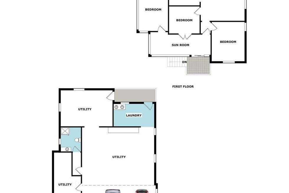 Floorplan of Homely house listing, 122 Lloyd Street, Alderley QLD 4051