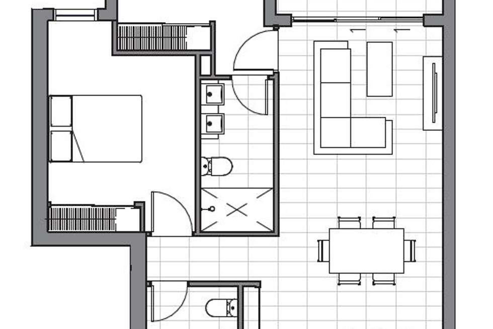 Floorplan of Homely apartment listing, 304/6 Algar Street, Windsor QLD 4030
