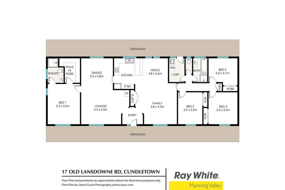 Floorplan of Homely ruralOther listing, 17 Old Lansdowne Road, Cundletown NSW 2430