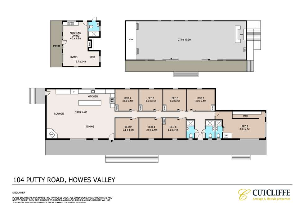 Floorplan of Homely acreageSemiRural listing, Lot 104 Putty Road, Howes Valley NSW 2330