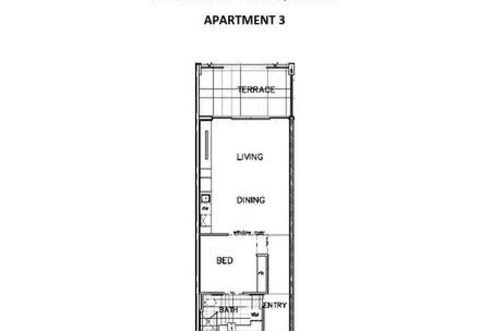 Floorplan of Homely apartment listing, 3/330 Churchill Avenue, Subiaco WA 6008