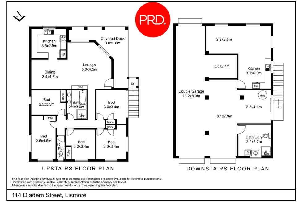 Floorplan of Homely house listing, 114 Diadem Street, Lismore NSW 2480