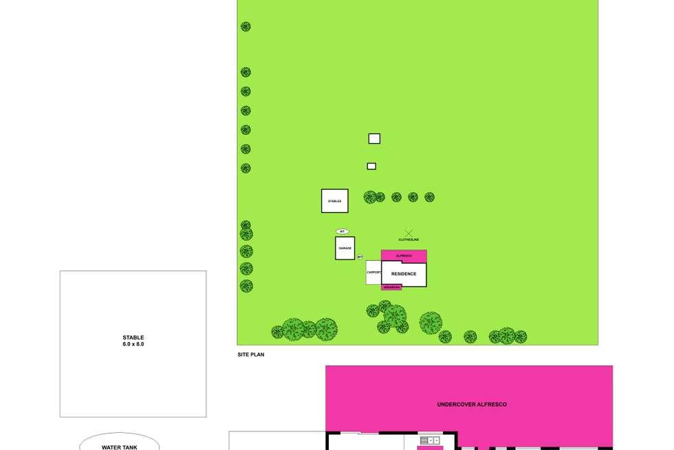 Floorplan of Homely acreageSemiRural listing, 110 Tillys Road, Lara VIC 3212