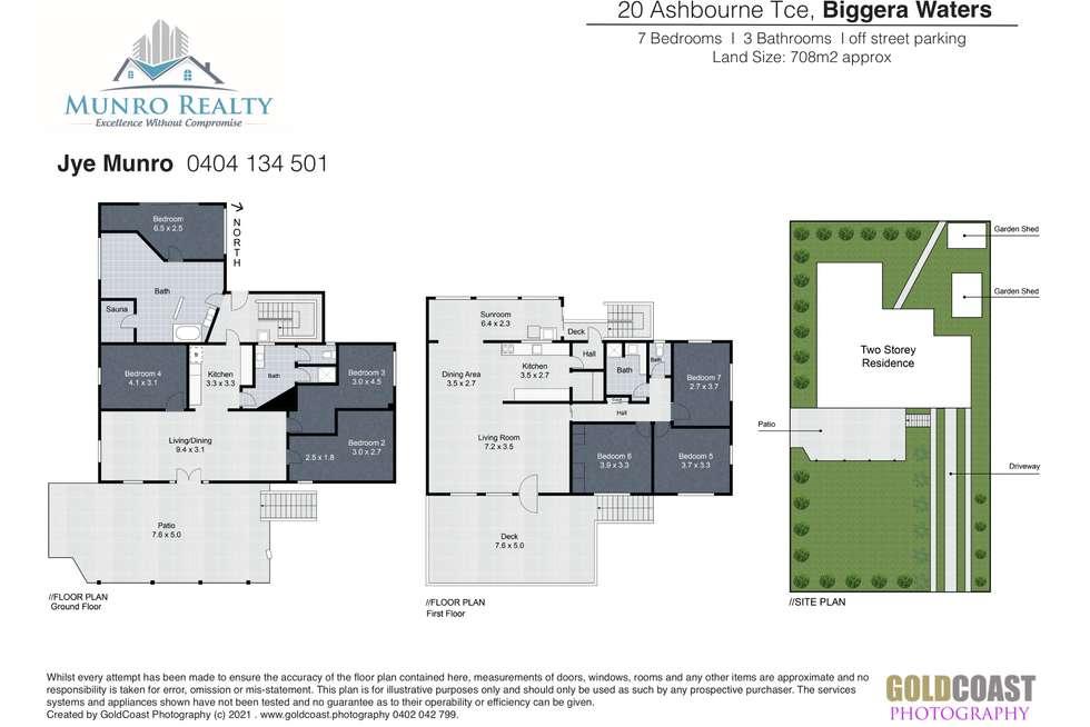 Floorplan of Homely house listing, 20 Ashbourne Terrace, Biggera Waters QLD 4216