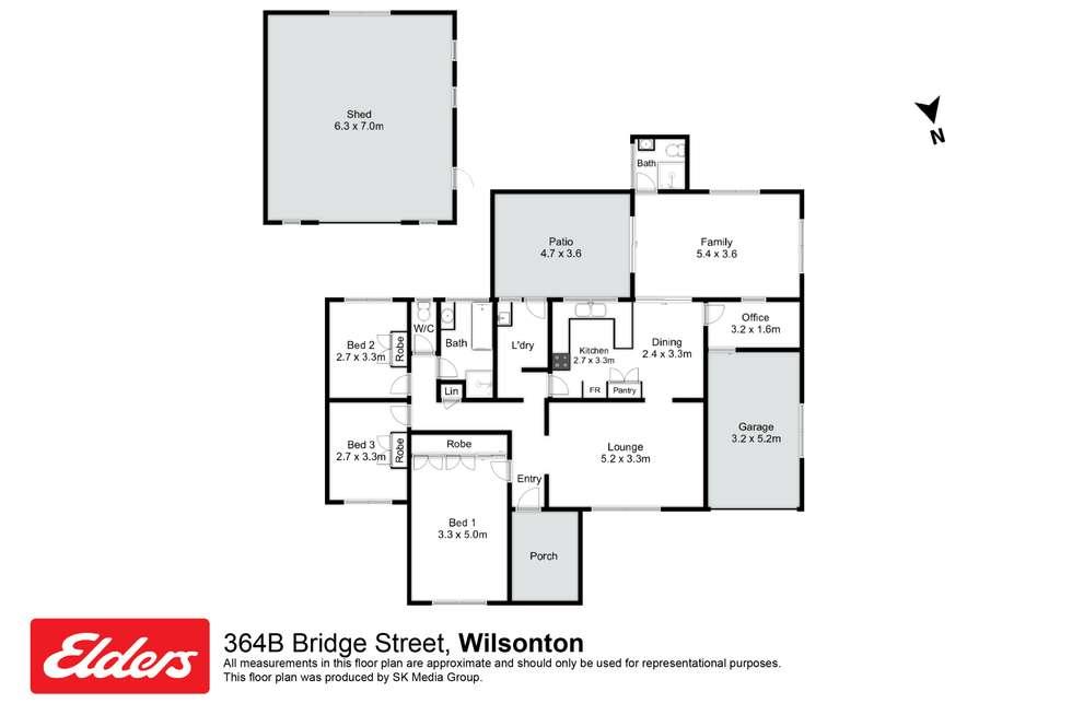 Floorplan of Homely house listing, 364B Bridge Street, Wilsonton QLD 4350