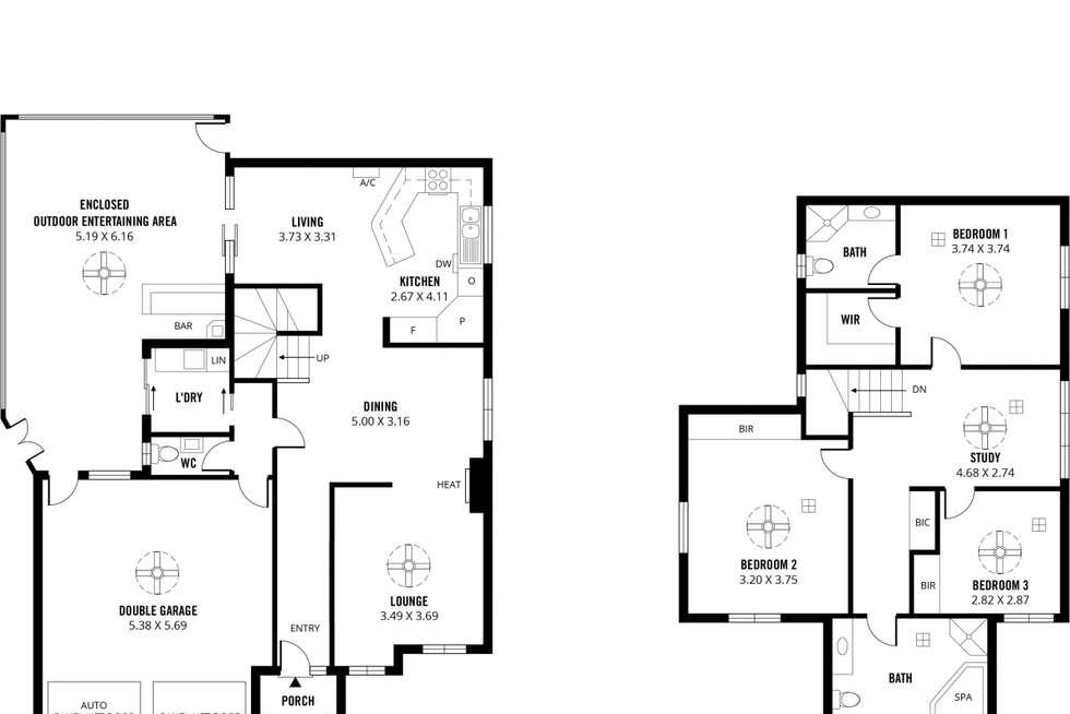 Floorplan of Homely house listing, 5 Highmount Lane, Golden Grove SA 5125