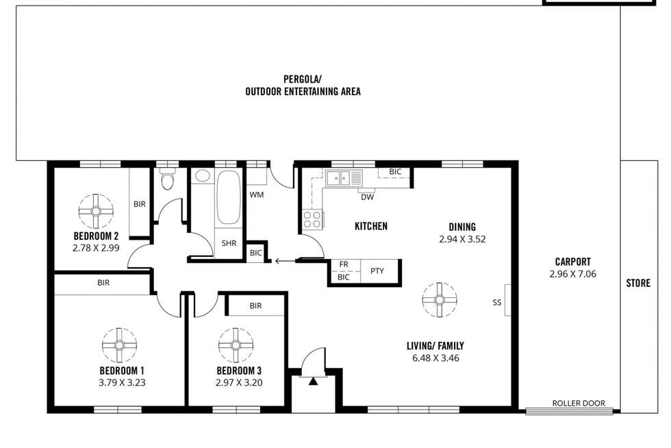 Floorplan of Homely house listing, 31 Teasdale Crescent, Parafield Gardens SA 5107