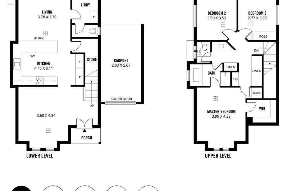 Floorplan of Homely house listing, 6/92-94 Fenden Road, Salisbury SA 5108