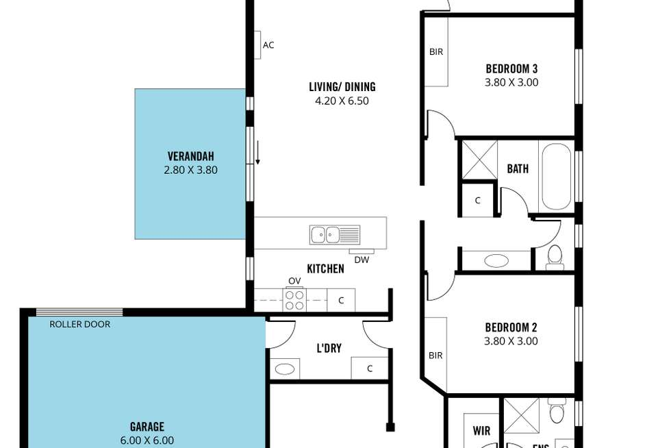 Floorplan of Homely house listing, 4 Galloway Court, Mount Barker SA 5251