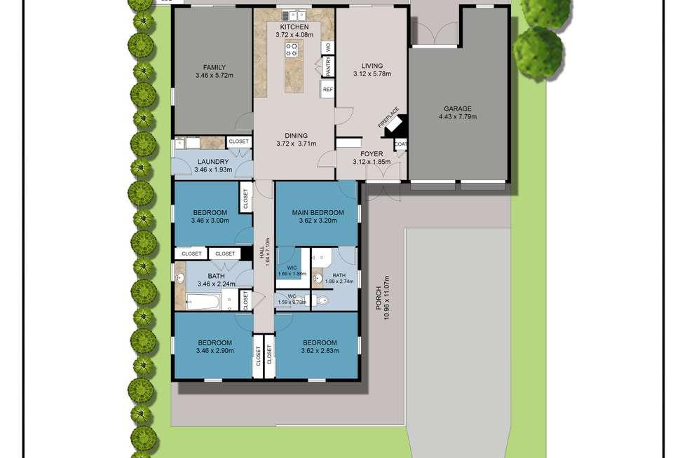 Floorplan of Homely house listing, 126 Kingsley Drive, Kingsley WA 6026