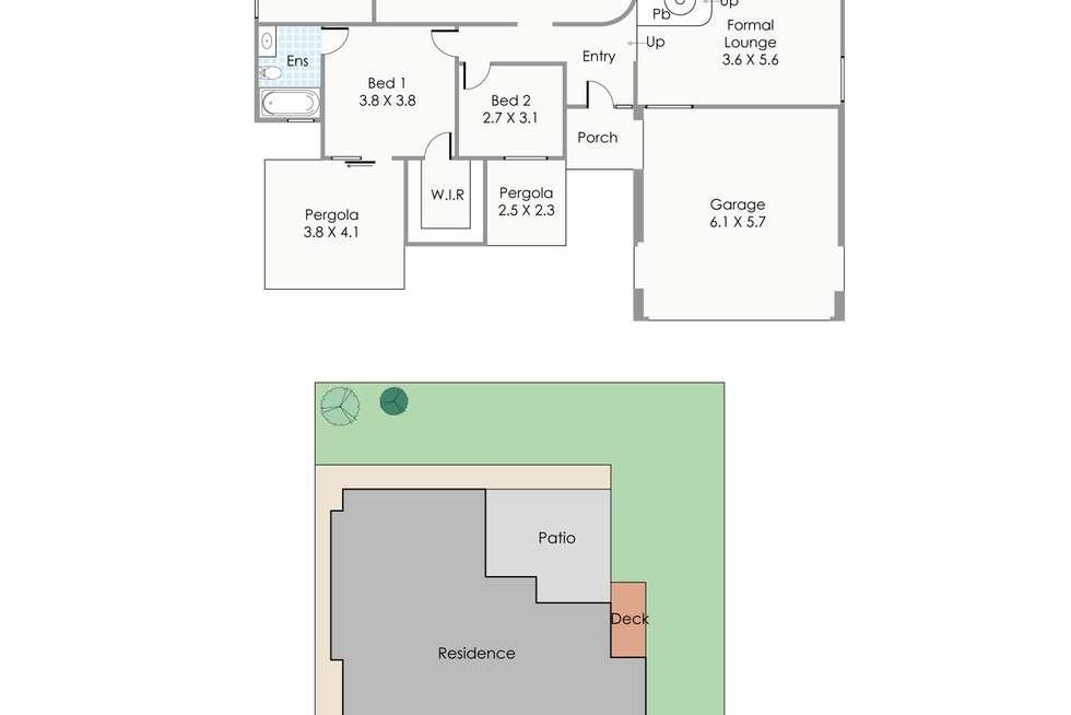 Floorplan of Homely house listing, 5 Woods Court, Kingsley WA 6026