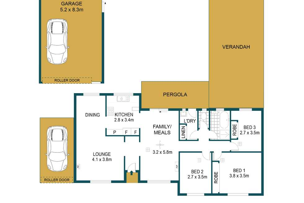 Floorplan of Homely house listing, 6 Countess Street, Paralowie SA 5108