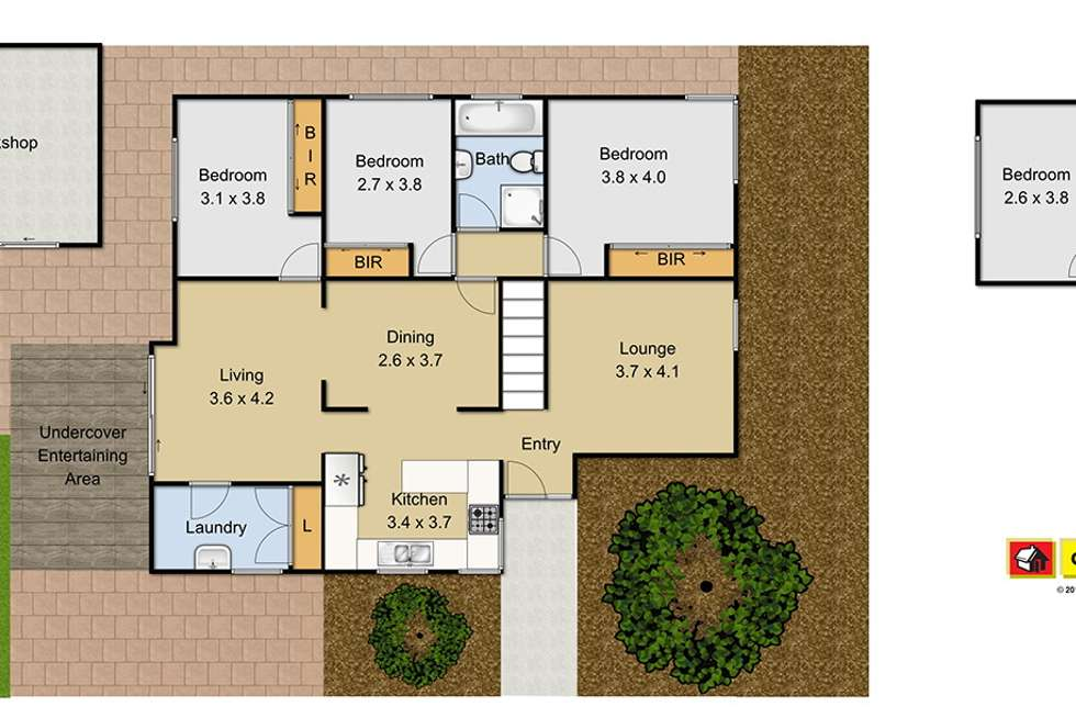 Floorplan of Homely house listing, 78 Victoria Road, Rooty Hill NSW 2766