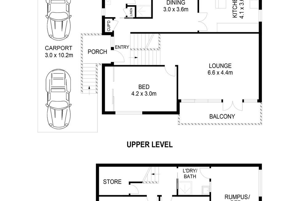 Floorplan of Homely house listing, 5 Maple Street, Lugarno NSW 2210