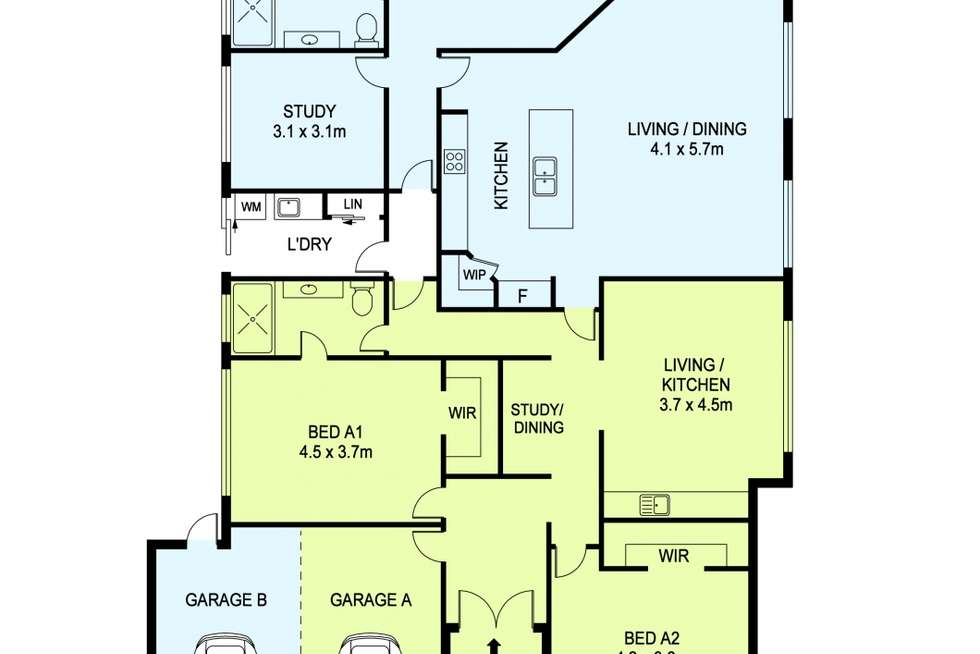 Floorplan of Homely house listing, 2 Arnside Bend, Waikiki WA 6169