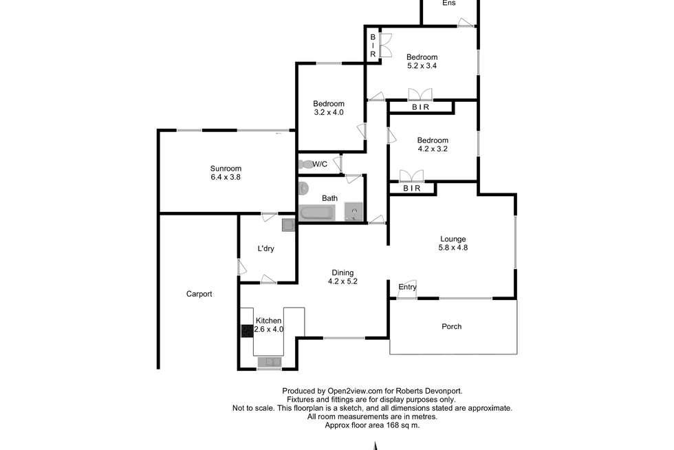 Floorplan of Homely house listing, 29 Esplanade, West Ulverstone TAS 7315