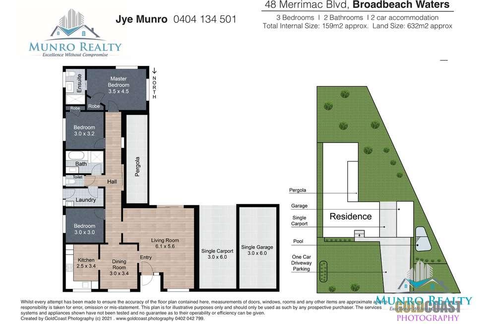 Floorplan of Homely house listing, 48 Merrimac Boulevard, Broadbeach Waters QLD 4218