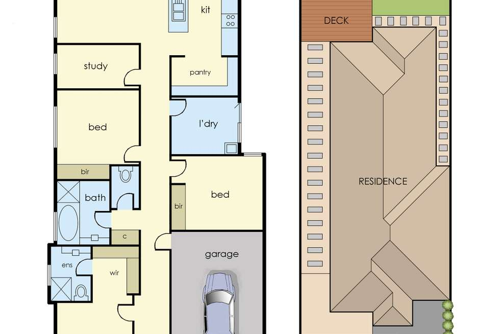 Floorplan of Homely house listing, 9 Rhinelander Close, Clyde North VIC 3978