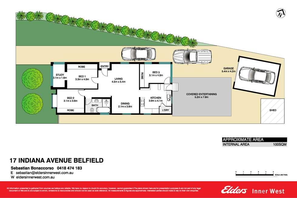 Floorplan of Homely house listing, 17 Indiana Avenue, Belfield NSW 2191