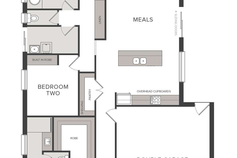 Floorplan of Homely house listing, Lot 528 New Road, Mount Barker SA 5251