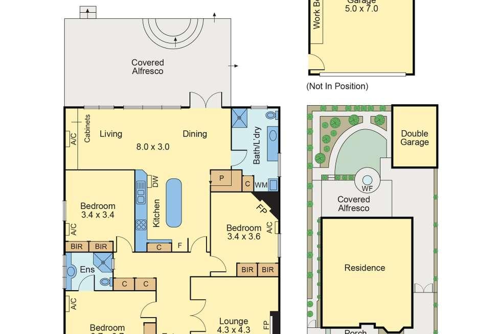 Floorplan of Homely house listing, 23 Severn Street, Balwyn North VIC 3104