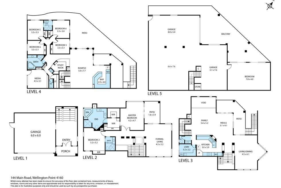 Floorplan of Homely house listing, 144 Main Road, Wellington Point QLD 4160