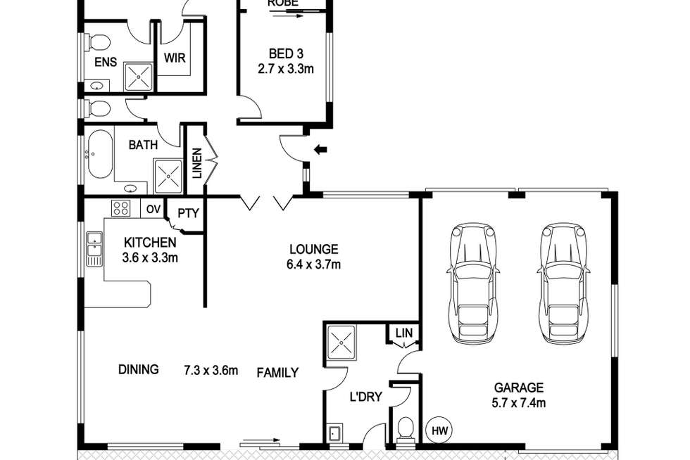 Floorplan of Homely house listing, 37 Laguna Place, Port Macquarie NSW 2444